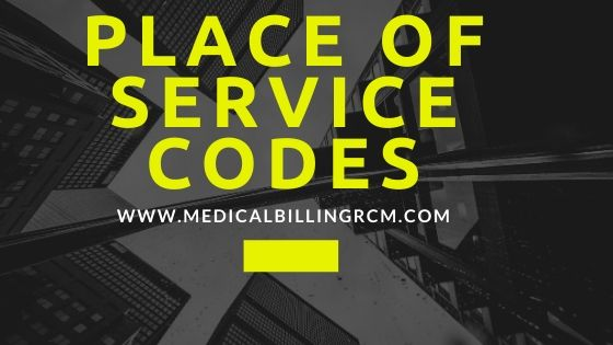place of service codes in medical billing