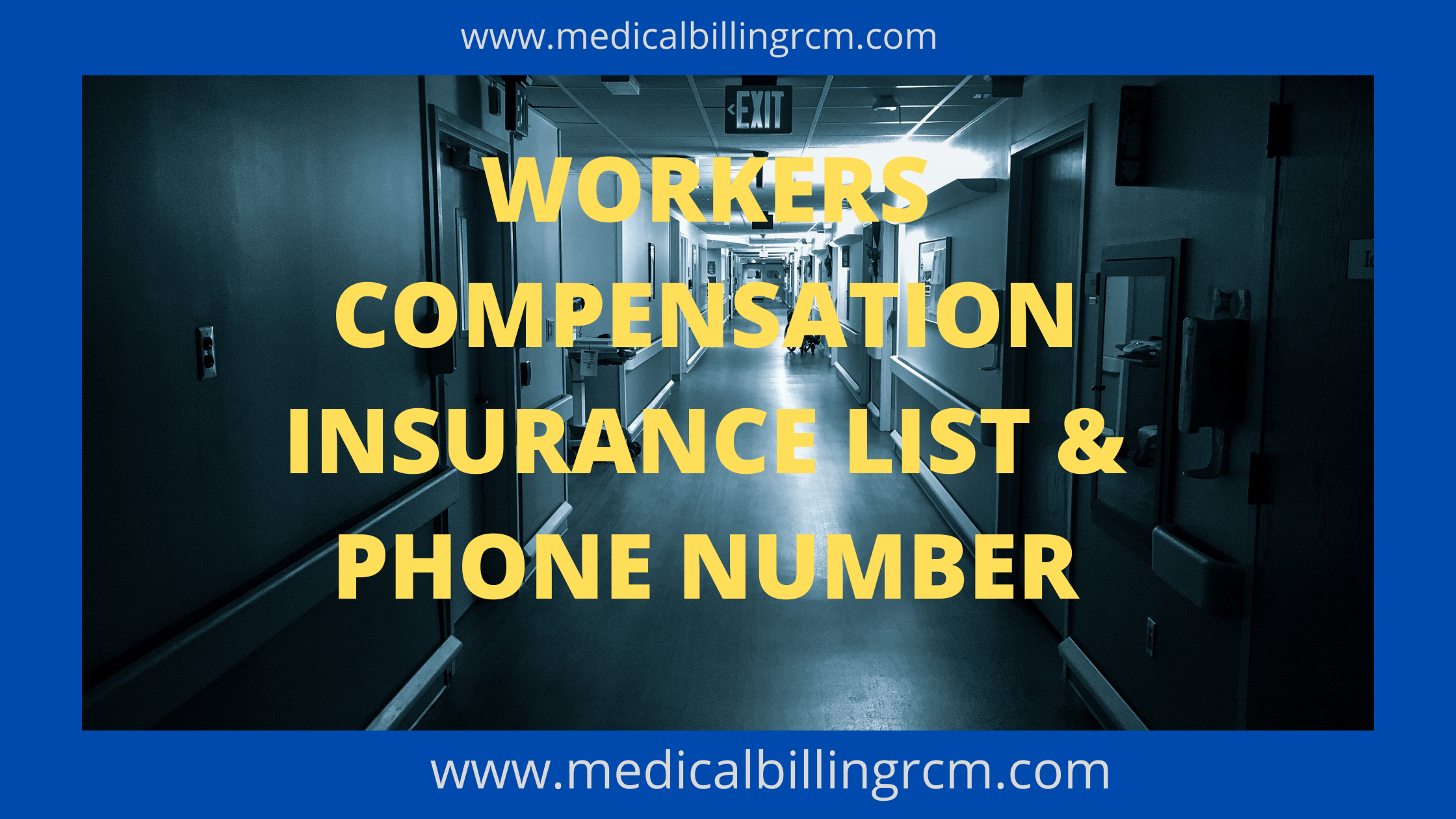 workers compensation insurance list and phone numbers