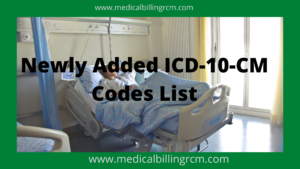 List of New ICD-10-CM Codes Added in 2021   Medical ...