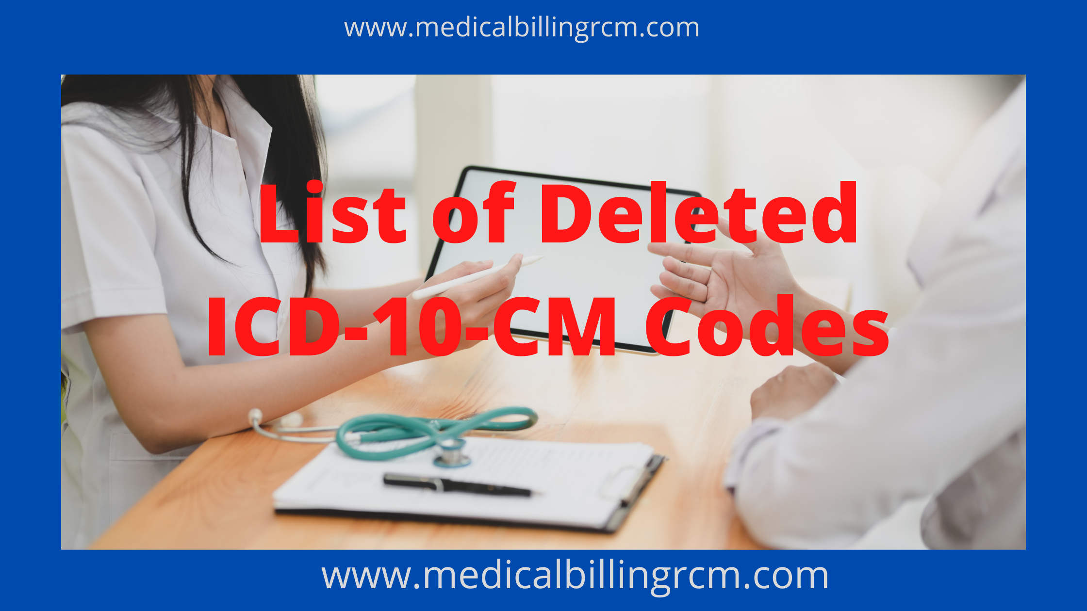 list of deleted icd-10 codes