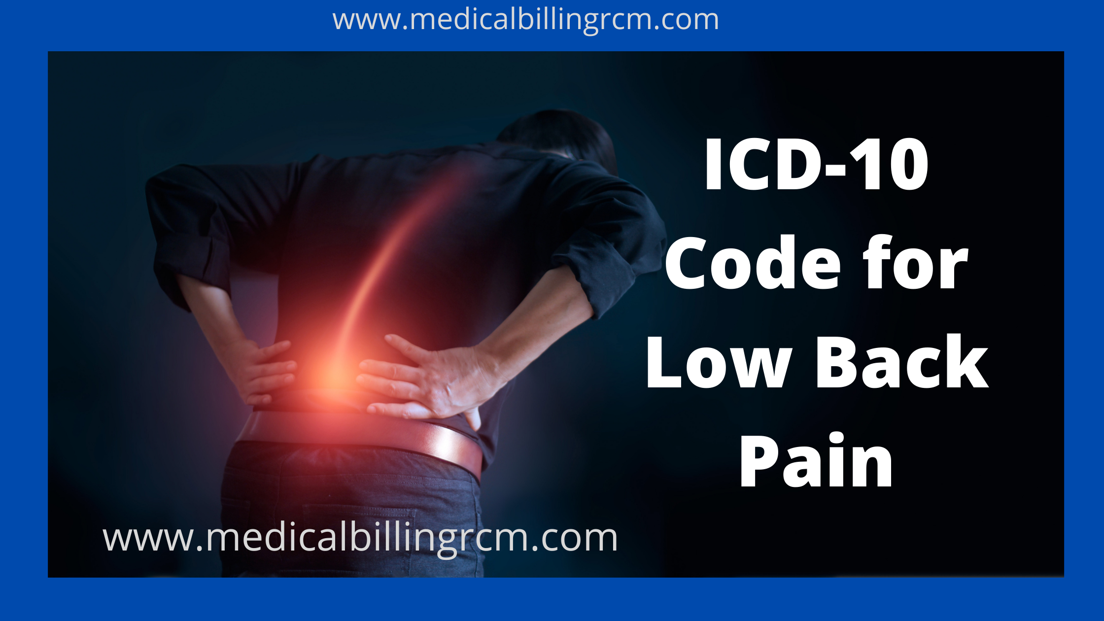 low back pain icd 10